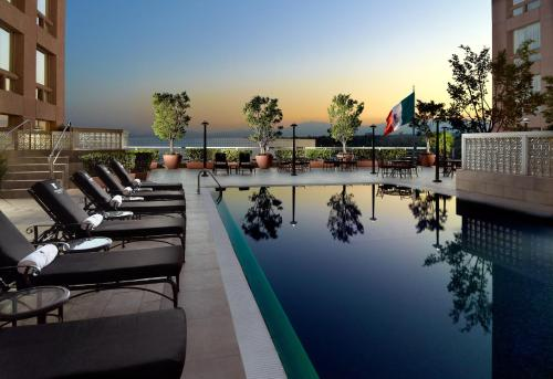The swimming pool at or close to JW Marriott Hotel Mexico City