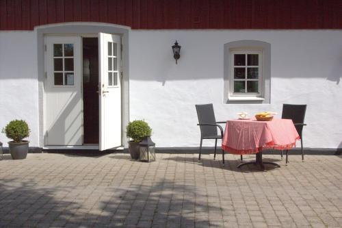 Uteplats på Lillehem Gårdshotell