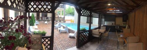 A view of the pool at Guest house Raf or nearby