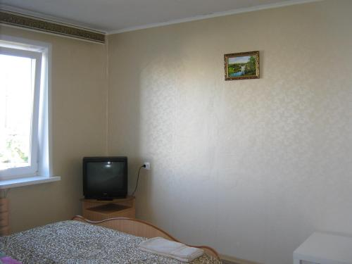 A television and/or entertainment center at Apartment Gromova