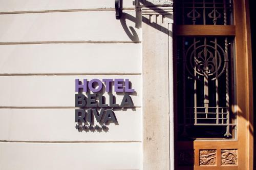 The facade or entrance of Hotel Bella Riva