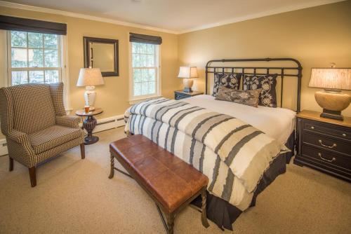 A room at The Dorset Inn