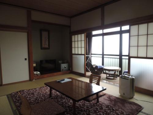 The lounge or bar area at Ikoi Sanso