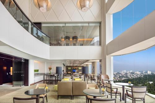 A restaurant or other place to eat at Hilton Kuala Lumpur