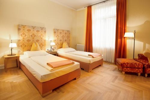 A room at Hotel Villa Florentina