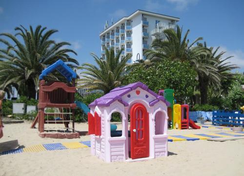 Area giochi per bambini di Hotel King