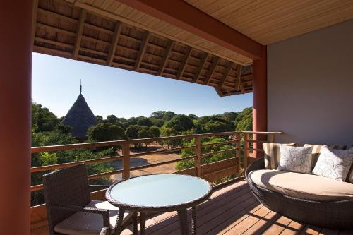 A porch or other outdoor area at Sheraton New Caledonia Deva Spa & Golf Resort