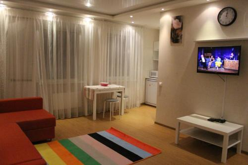 A television and/or entertainment center at Apartment-2 on Pravda 40