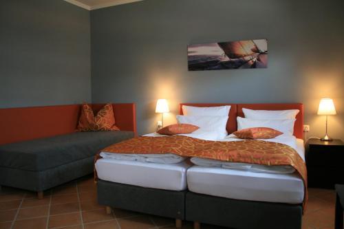 A room at Apartmenthaus Unterwegs