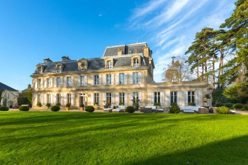 Jardin de l'établissement Chateau La Cheneviere