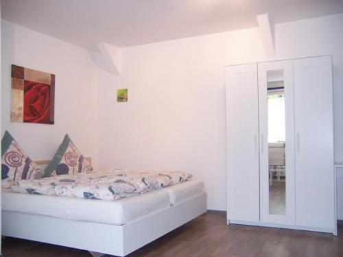 Ein Zimmer in der Unterkunft Ferienwohnung im Paulusviertel