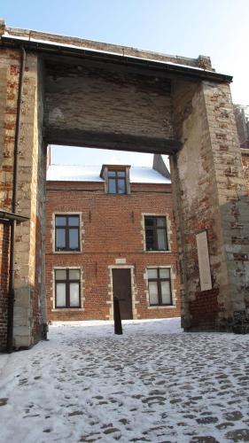 Guesthouse Begijnhof during the winter