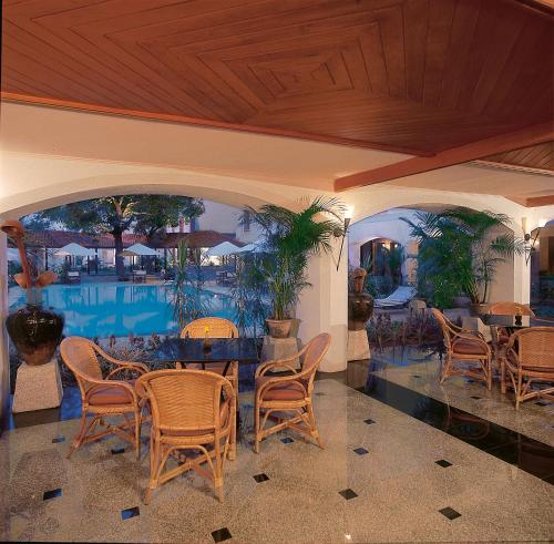 A view of the pool at Trident Cochin or nearby
