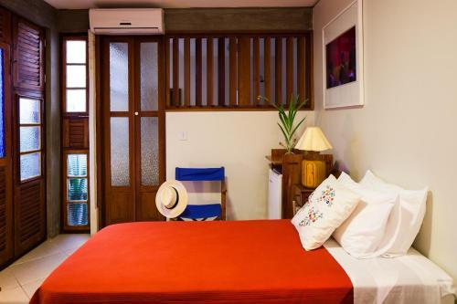 A room at Pousada Casa da Vitória