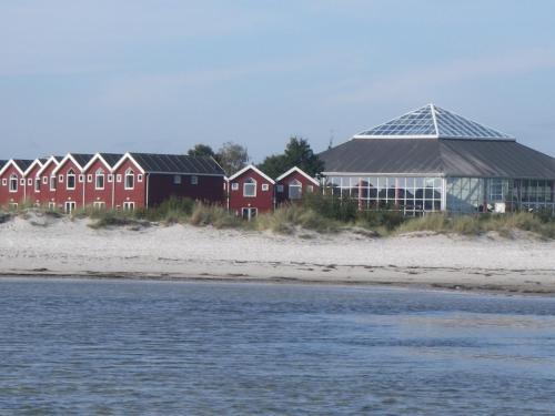 Bygningen som ferieparken ligger i