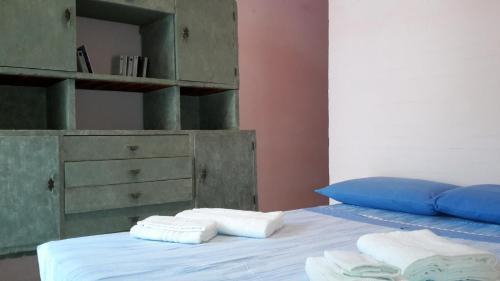 Letto o letti in una camera di Villino Elena