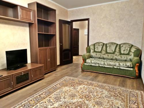 The lounge or bar area at InnDays na Leningradskoy