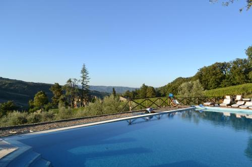 The swimming pool at or near Agriturismo Lapone