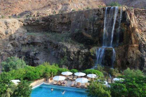 A piscina em ou perto de Ma'in Hot Springs