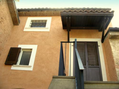 Balcone o terrazza di Monolocale Pareti Tocco