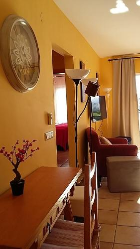 A bunk bed or bunk beds in a room at Apartment Carabeo 2000 - Nerja
