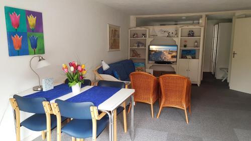 Lounge oder Bar in der Unterkunft Appartement in Zandvoort