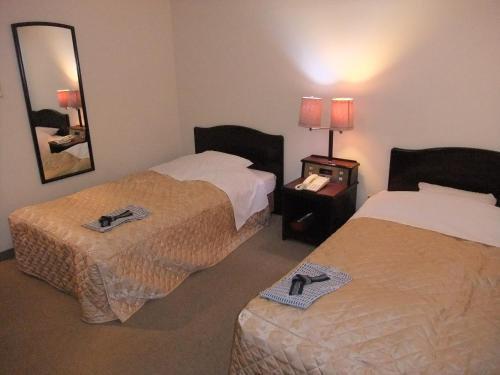 A room at Hotel New Takahashi Kouyadai