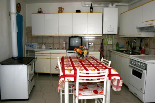 Cucina o angolo cottura di Don Pasquale Scontrone House