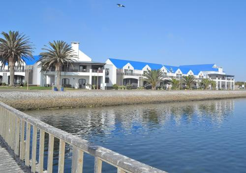 The swimming pool at or near Protea Hotel by Marriott Walvis Bay Pelican Bay