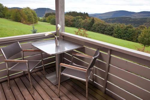 A balcony or terrace at Hapimag Ferienwohnungen Winterberg