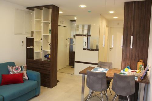 Posezení v ubytování Apartment Patricia