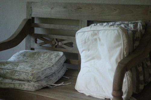 Postel nebo postele na pokoji v ubytování Chalet Gabrettina