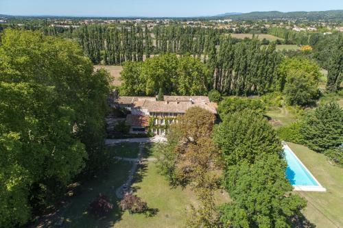 A bird's-eye view of Le Domaine de Palerme