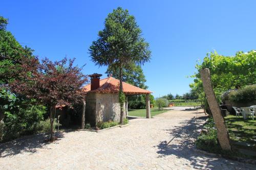 A garden outside Quinta Miranda