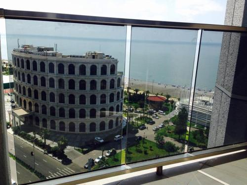A general view of Batumi or a view of the city taken from the guesthouse