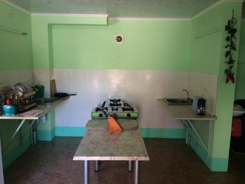 Кухня или мини-кухня в Voyazh
