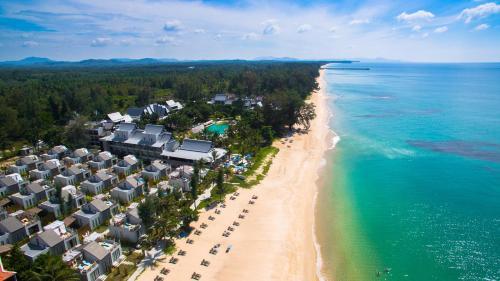 Vaade majutusasutusele Natai Beach Resort and Spa linnulennult