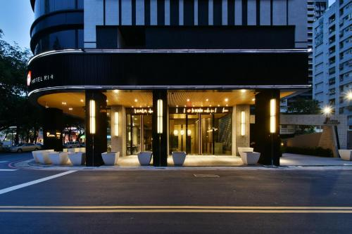The facade or entrance of Hotel R14