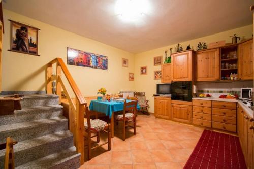 Küche/Küchenzeile in der Unterkunft Apartment La Bella