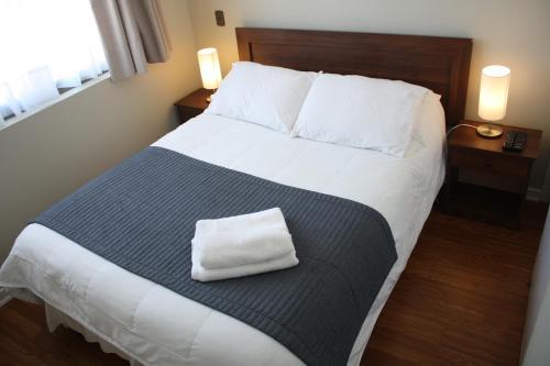 Una habitación en Hostal Buró