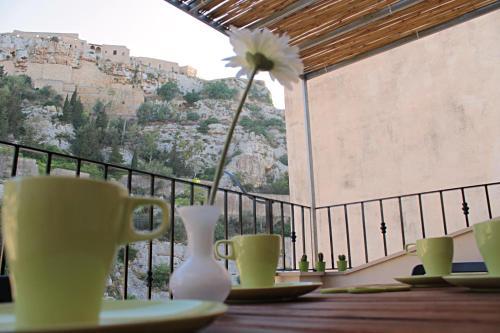 Set per la preparazione di tè e caffè presso Casa Mari Fer