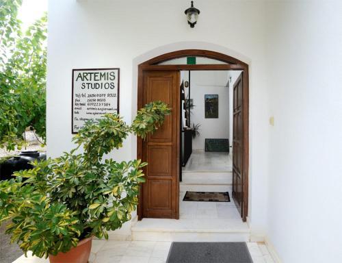 The facade or entrance of Artemis Studios