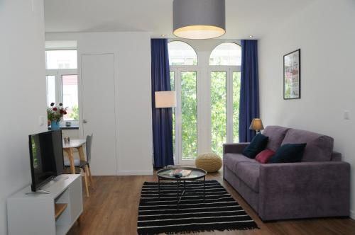 Zona de estar de Lisbonne Appartements