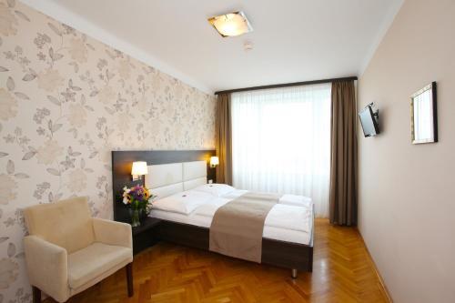A room at Medos Hotel
