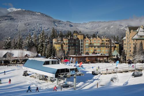 Le Chamois by Whistler Premier during the winter