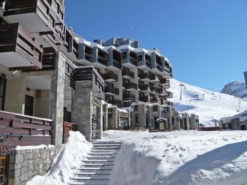 Apartment Le Curling A-17 during the winter