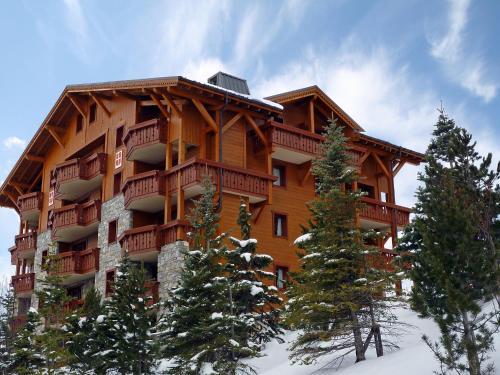 Apartment Les Alpages de Reberty during the winter