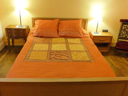 A bed or beds in a room at Apartment Levavasseur