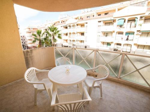 A porch or other outdoor area at Apartment Edificio Mediterranea II