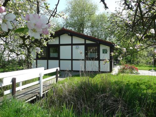 Ein Patio oder anderer Außenbereich in der Unterkunft Holiday Home Altes Land.2